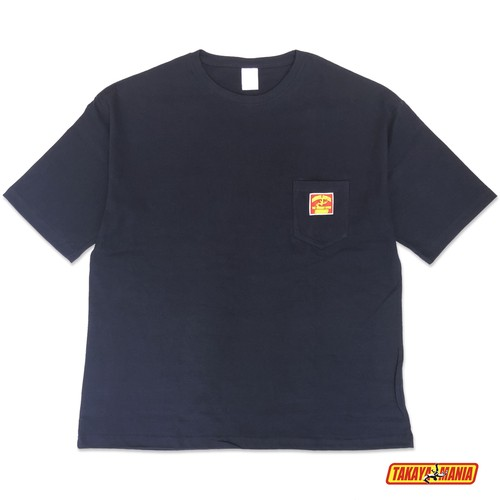 TAKAYAMANIA BIG POCKET Tシャツ NAVY / TM-PO2002