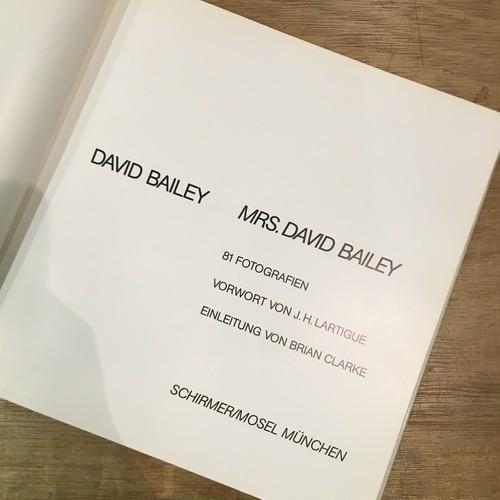 DAVID BAILEY / Mrs. David Bailey