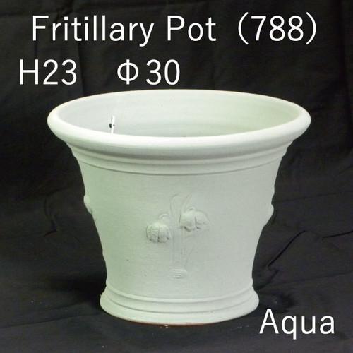英国製JPGS限定色ウィッチフォード鉢【Fritillary Pot】