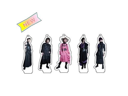 "Acrylic key chain(""怒り""ver.) 各種"