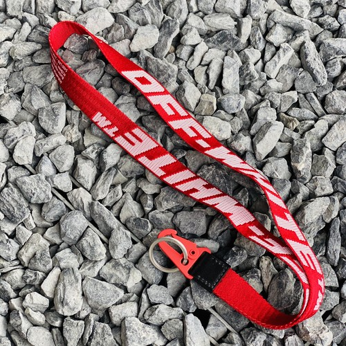 OFF-WHITE 2.0 INDUSTRIAL NECKLACE RED