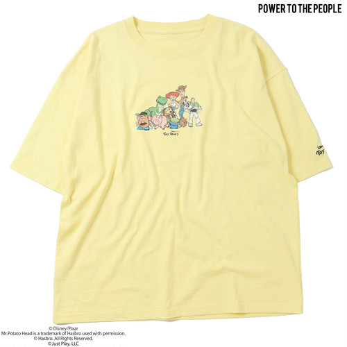 【TOY STORY】フロントキャラプリントオーバーTee NO1515036