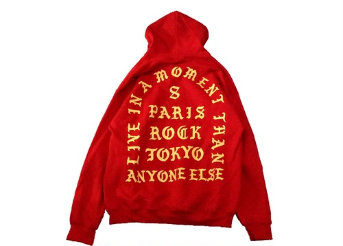 """""""LIVE IN A MOMENT"""" HOODIE"""