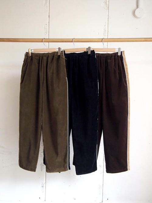 COMFORTABLE REASON, Velvet Trousers