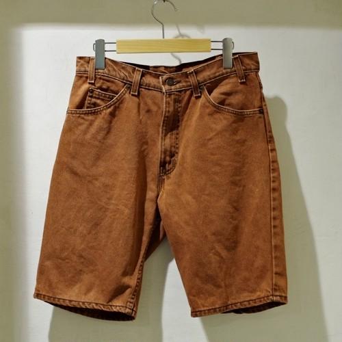 1990s Levi's 550 Denim Short Pants / 90年代 リーバイス デニム ショーツ テラコッタ/ イレギュラー品