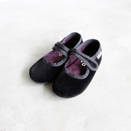《CIENTA》フォーマルストラップ / veloure black