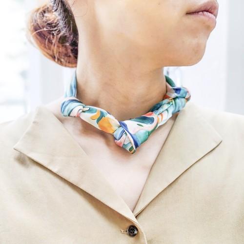 La スカーフ MIX 50cm