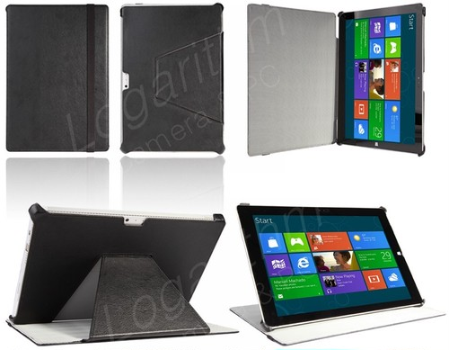 Microsoft Surface Pro 3用スタイリッシュケース 黒ブラック MCP304-K