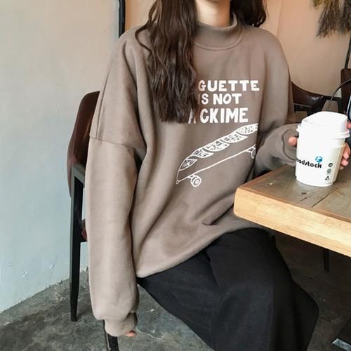 【送料無料】可愛いプリント♡ トレーナー スウェット トップス