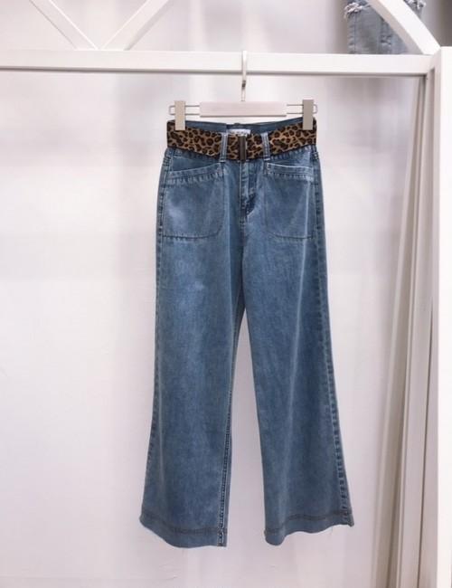 フロントポケットデニム デニム ジーンズ 韓国ファッション