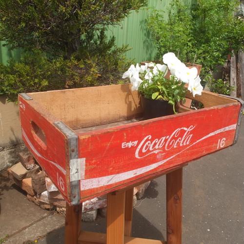 アンティーク木箱(コカ・コーラ)