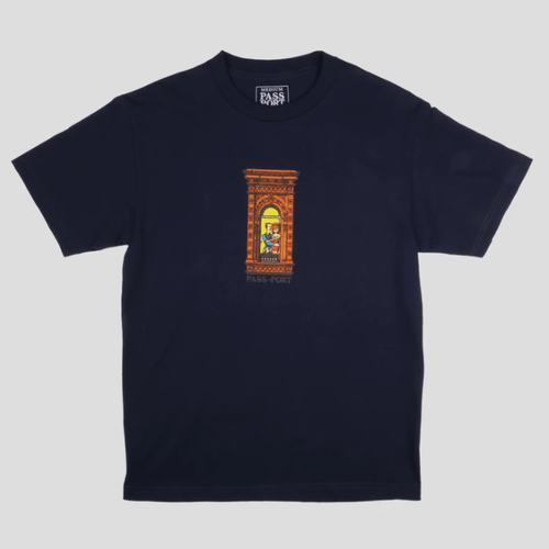 Pass-Port / PRE-MEDI TEE / HARBOUR BLUE