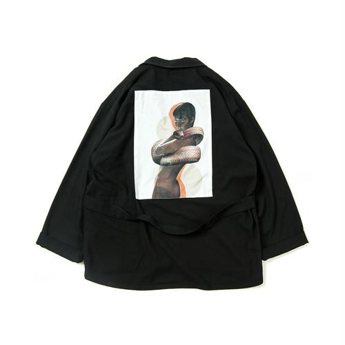 TIGHTBOOTH FORTRESS WOOL JKT BLACK L タイトブース