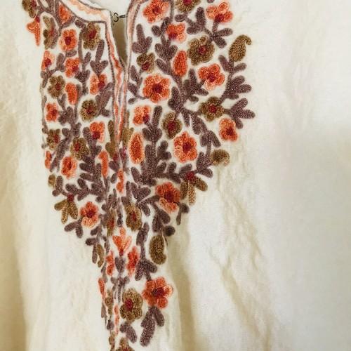✴︎Kashmir Hand-Embroidery Poncho