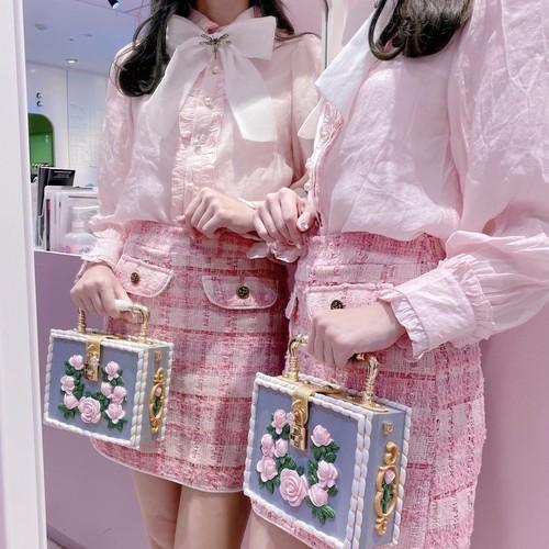 【Sister Jane】Prom Tweed Mini Skirt
