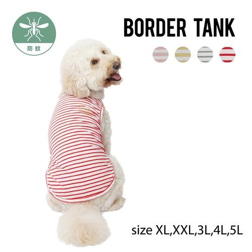 BORDER TANK(XL,XXL,3L,4L,5L) ボーダータンク