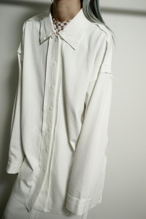 STITCH  SHIRT  (WHITE) 2105-825-HK52