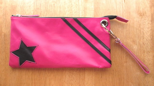 ☆Sale☆クラッチ・ポシェット <star clutch / pink>