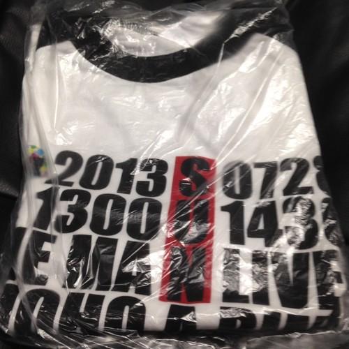 ワンマン記念半袖Tシャツ ラグラン黒 Mサイズ