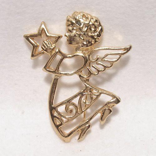 天使のブローチ コスチュームジュエリーのセール通販 5914B