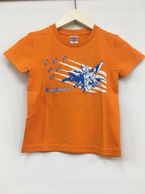 キッズTシャツ ブルーインパルス【オレンジ色】
