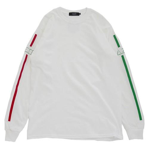 Stripes L/S Tee (White 2)