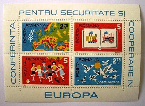 欧州安全保障会議 / ルーマニア 1975