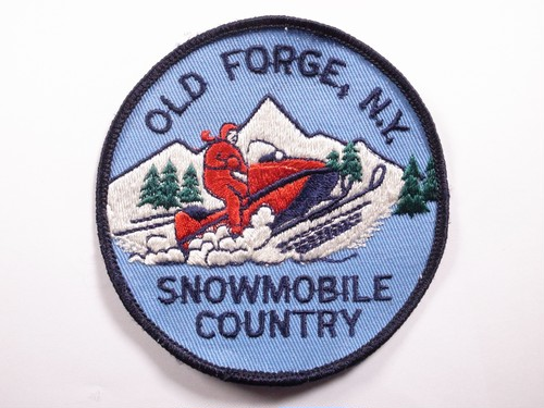 "PATCH""OLD FORGE NY SNOWMOBILE COUNTRY"""