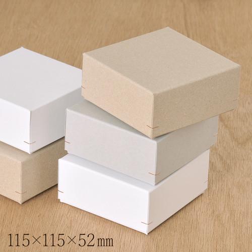 ギフトボックス LL 角留め箱 115×115×52mm 1個 B016.B017.B018