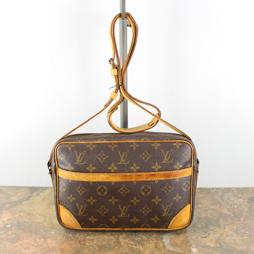 .LOUIS VUITTON M51276 MB1020 MONOGRAM PATTERNED SHOULDER BAG MADE IN FRANCE/ルイヴィトントロカデロモノグラム柄ショルダーバッグ 2000000041292
