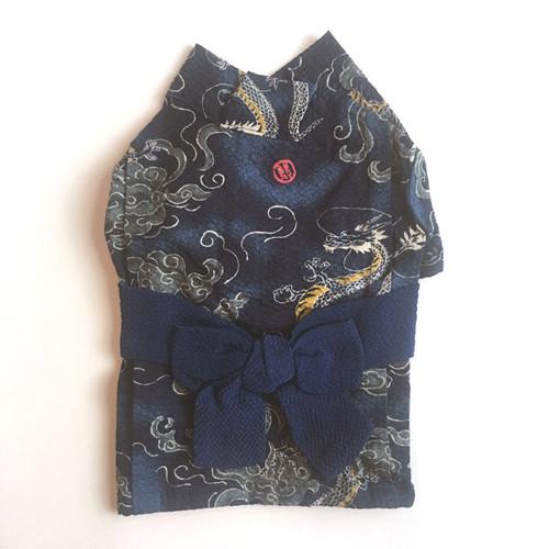 【POCO A POCO】ドラゴン浴衣(ネイビー)