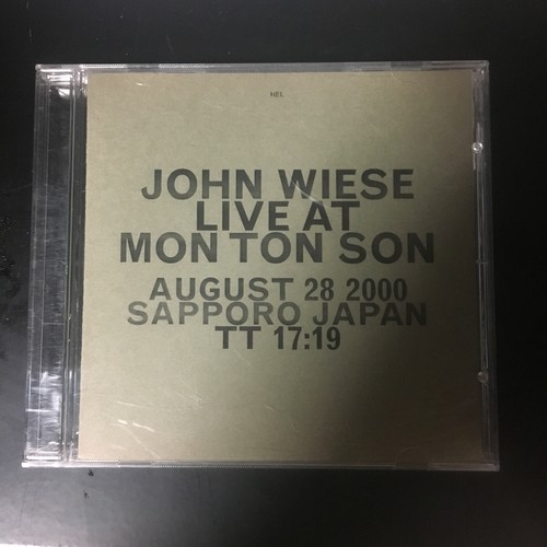John Wiese ‎– Live At Mon Ton Son(CDR)USED