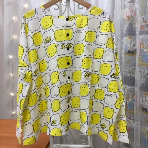■レモン柄2WAYカットソー☆