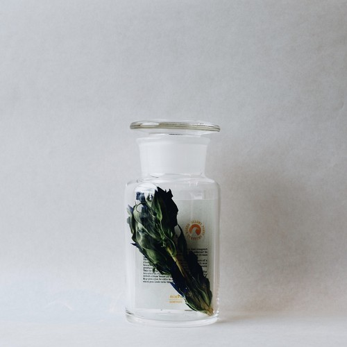 × SILENT POETS GLASS CONTAINER NO.2 (S)