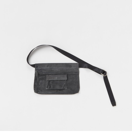 Hender Scheme 【エンダースキーマ】 waist belt bag wide (D.GRAY)