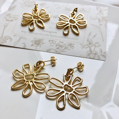 Flower pierce♡