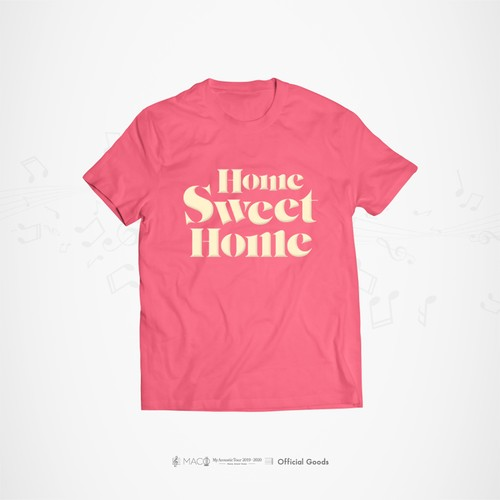 """My Acoustic Tour"" Tシャツ"