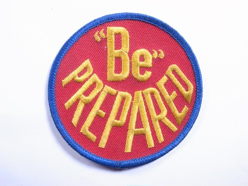 "OLD PATCH""Be PREPARATED"""