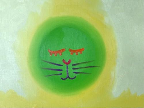 覗く動物たち・ネコ003
