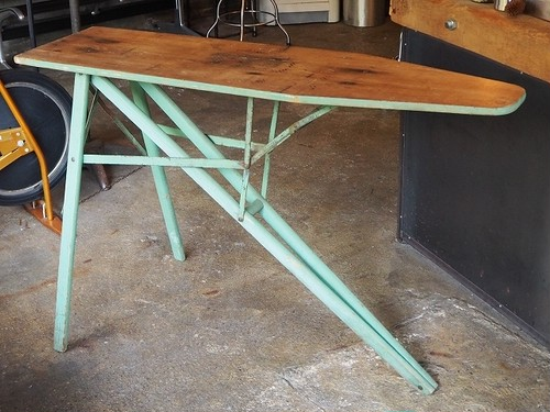 Folding Iron Table from LA