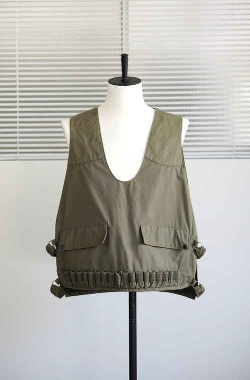<SOLD OUT>Adolphe Lafont - French Hunting Adjustable Vest 1940's
