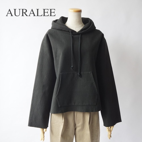 AURALEE/オーラリー ・SUPER MILLED SWEAT CUT-OFF P/O PARKA