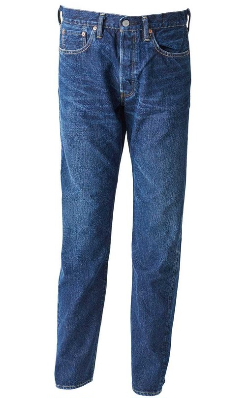 【HAND ROOM / ハンドルーム】8071-1407  Slim Fit Jeans 1 year aging processed Indigo