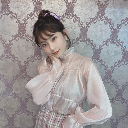 lovely sheer blouse