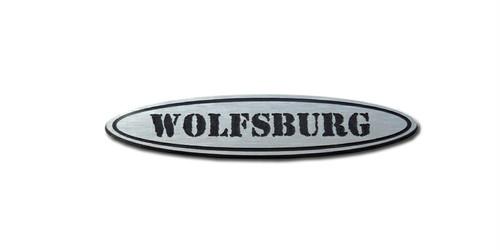vw フォルクスワーゲン peytonオリジナルエンブレムシリーズ 「wolfsburg」 アーミータイプ