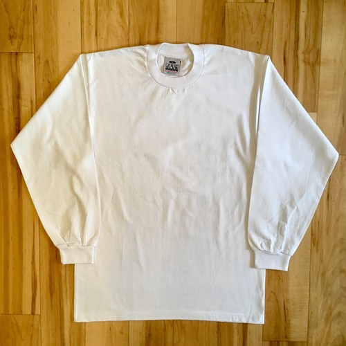 "PRO CLUB Long Sleeve Tee ""Made in USA"" <Deadstock>"