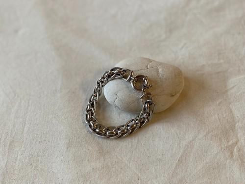 〈vintage silver925〉volume design bracelet