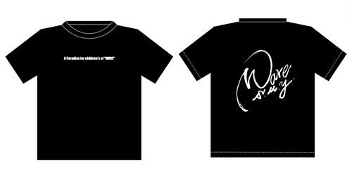 レギュラー黒Tシャツ