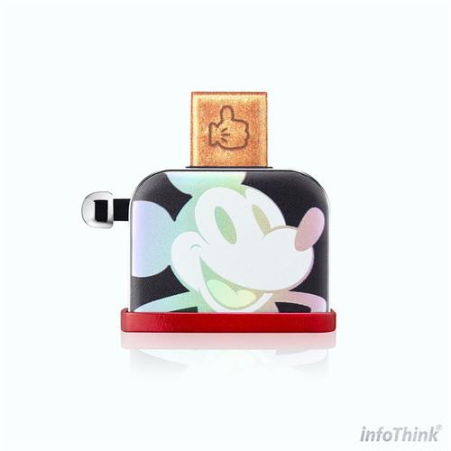 InfoThink USBメモリ ディズニー 90th アニバーサリーミッキー トースター型  USB-100-Laser-16GB