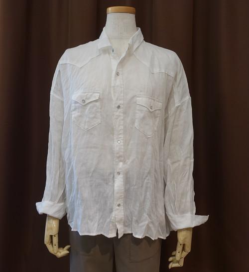 21087  ウエスタンシャツ/ホワイト